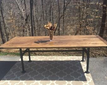 The Industrial Farmhouse Table
