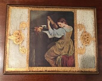 Florentine Style Wooden Jewelry Box