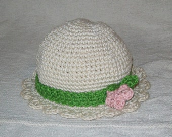 Toddler Crcohet Hat