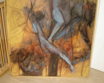 """painting on canvas """"descent from the cross"""""""