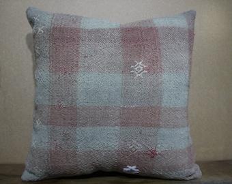 Pastel Colours Turkish Kilim Pillow, Cushion Cover,Sofa Pillow,Bohomian Pillow Decorative Pillow,Throw Pillow 16x16 - 40x40 SP40-65