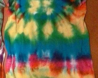 Large Tie Dye Tank top
