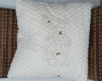 Rose Plush Pillow