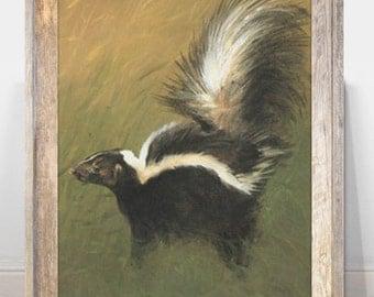 Skunk Art Etsy