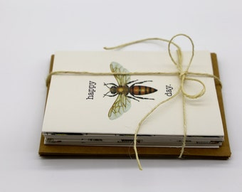 Australian Bee Cards Variety 8-Pack