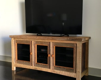 Reclaimed Wood Cabinet Entertainment Center