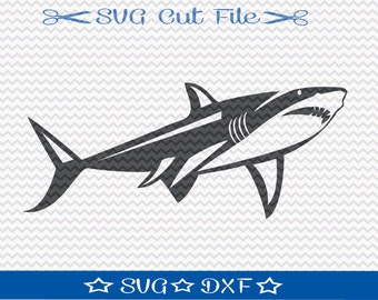 Shark SVG File / SVG Cut File for Silhouette / Animal SVG / Great White svg / Jaws svg / svg for Shark Week
