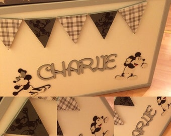 Personalised disney toy boxes