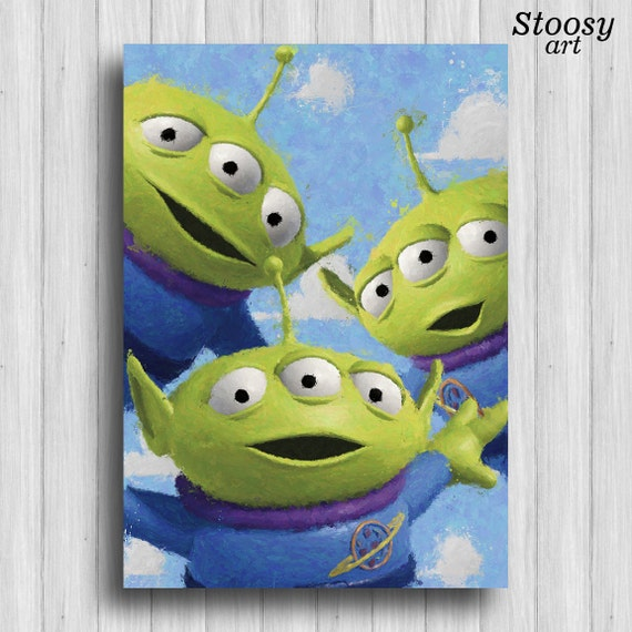 toy story print aliens - photo #23