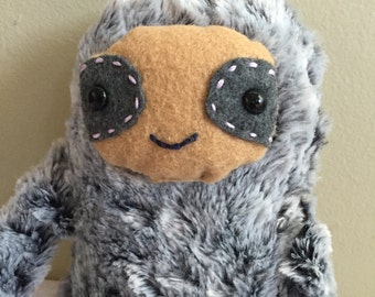 Soft Chocolate Sloth Plush Toy