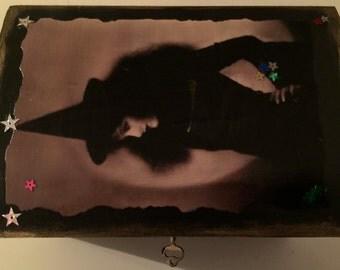 Vintage Witch Tarot/Keepsake Box