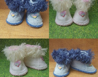 Heart Love Baby booties, baby shoes, baby boots,baby slippers,baby gift,  Baby winter Boots, Baby slippers, Toddler slippers