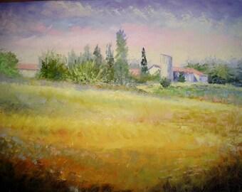 Landscape campaign in Dordogne France