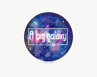 Galaxy premade logo -