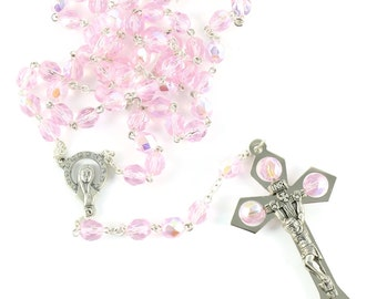 Rosary glass beads 7mm