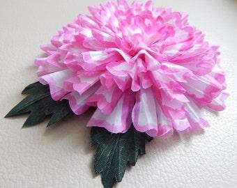 Textile decoration / flower Брошь цветок