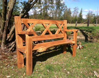 Outdoors bench