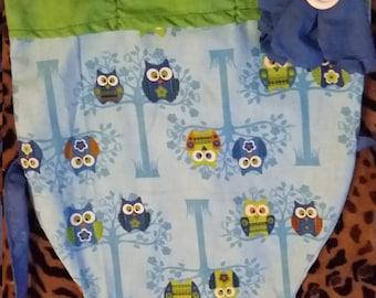 Kids owl apron
