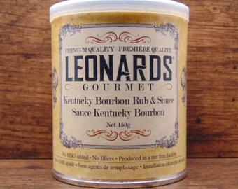 Kentucky Bourbon Rub & Sauce