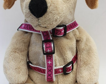 Monogram Step-In Dog Harness