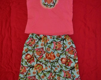 Size 2 Little Girl Outfit