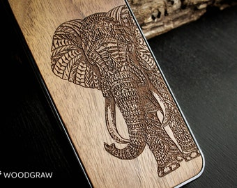 Elephant iphone 7 case wood 6 womens gift for wife her gift for women, gift for wife, best gift women, gift ideas, women iphone 7 Plus case