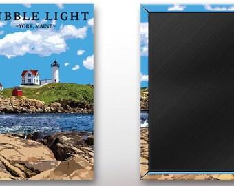 Nubble Light Acrylic Magnet