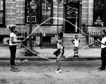 Double Dutch Girls, Brooklyn, NYC.