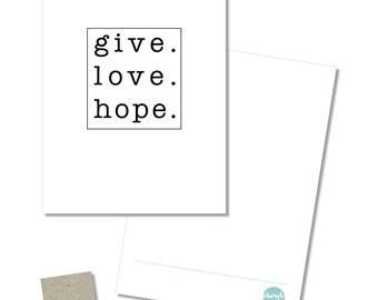 Notecard + envelope set