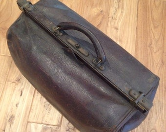 Vintage german doctor bag