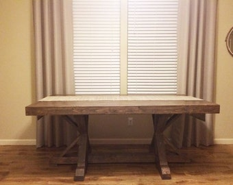 Rustic Dining Table, Farm Table, Rustic Table, Portland Farmhouse Table, Dining Room Table, Rustic Dining Table, Rustic Table Portland, OR