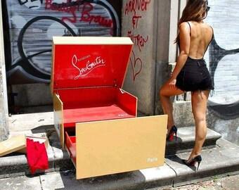 Giant Louboutin shoe box shipping included!!!!