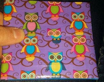 Owl Duck Tape Wallet
