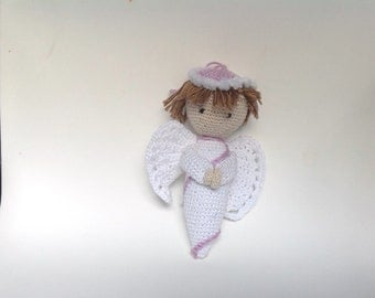 guardian angel, crochet angel, amigurumi, angel, little angel,