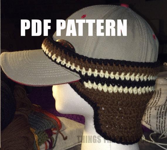 Ball Cap Earwarmer Crochet Pattern Pdf Dowload