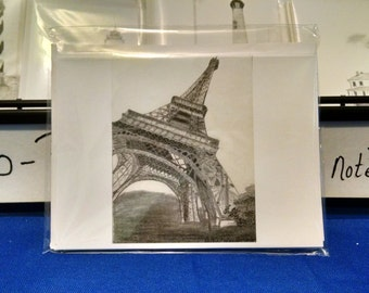 Eiffel Tower notecard set(5)