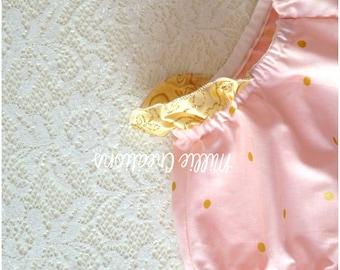 Size 1 Glitz Pink Confetti Nappy Cover Bloomers
