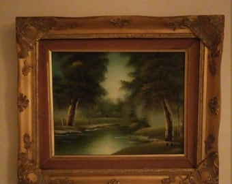 Painted art A Antonia