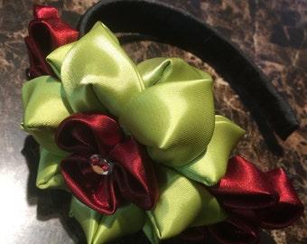 Khazanchi Flower Hard Headband