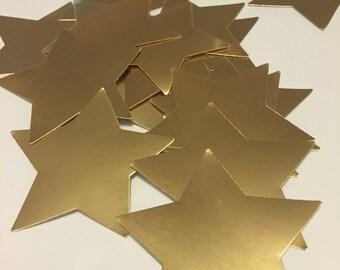 80 Gold Star Die Cuts