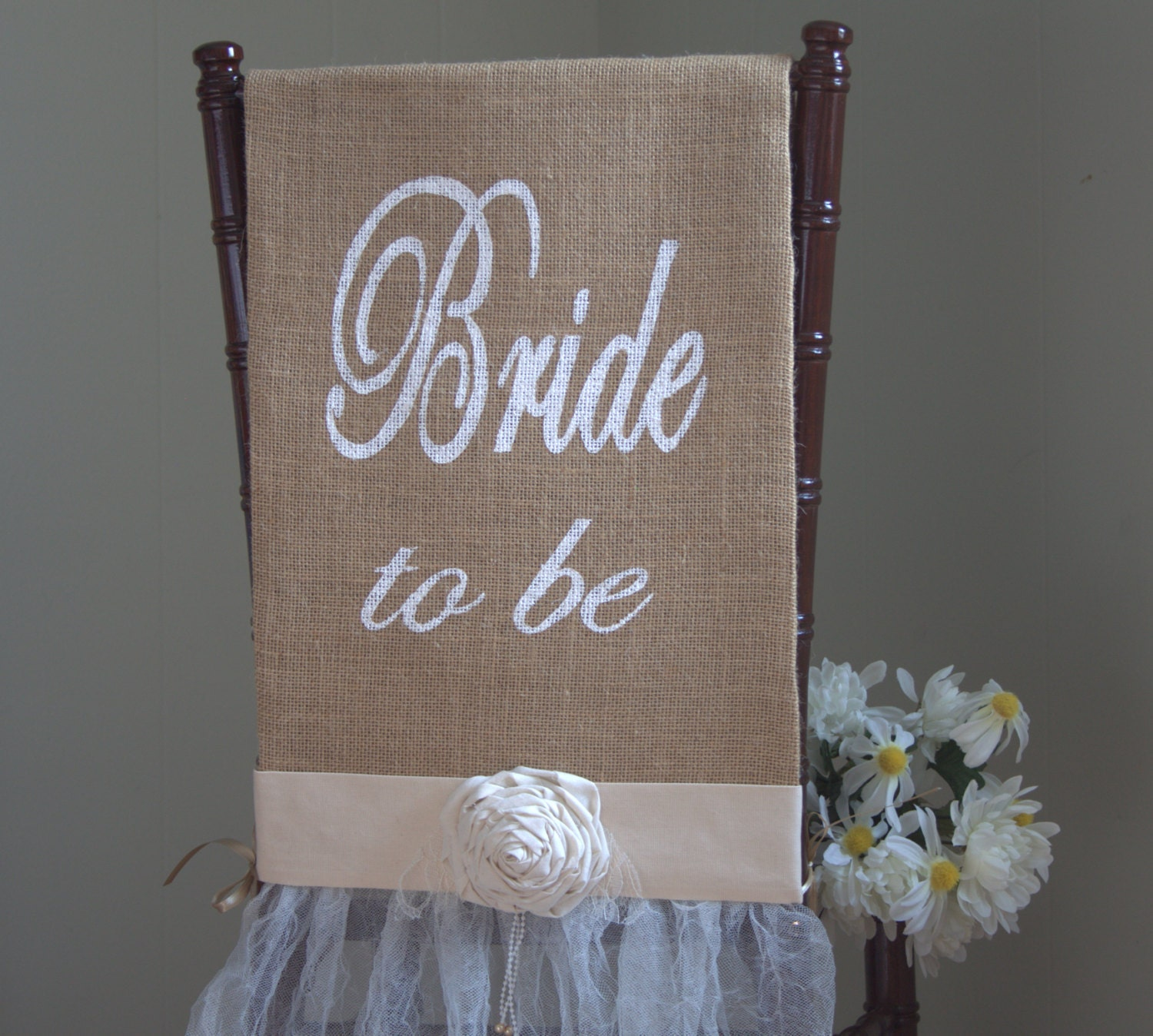 bridal shower chair bridal shower chair cover chair by barnhillweddingdecor