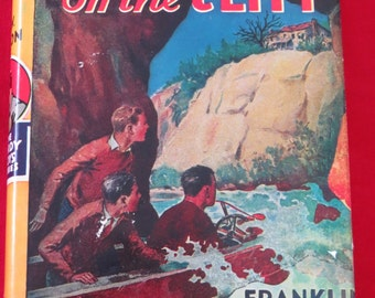 Vintage The Hardy Boys The House On The Cliff by Franklin W Dixon  copyright 1927