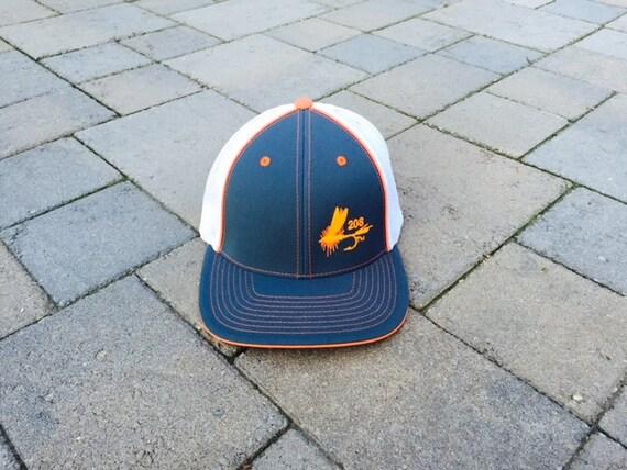 Area code art 208 area code fly fishing trucker hat idaho for Fly fishing trucker hat