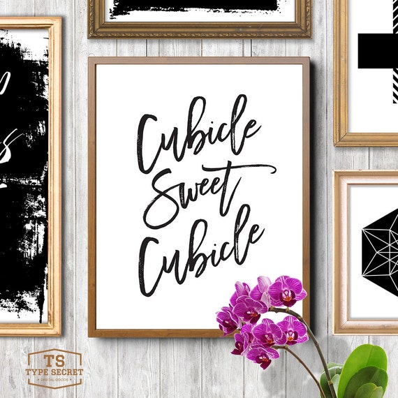 black and white printable art cubicle sweet