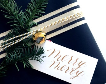 Merry Merry Gift Tag