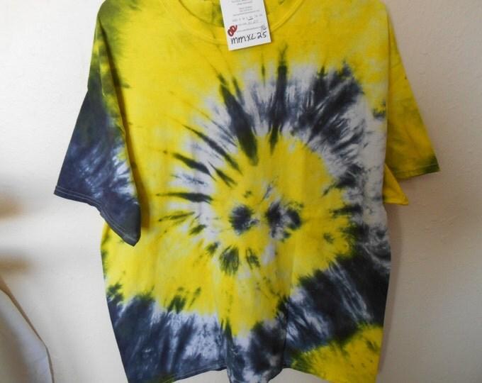 100% cotton Tie Dye T-shirt MMXL25 size XL
