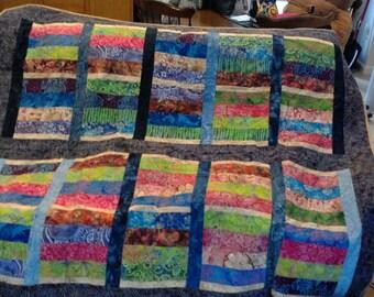 Batiks, Tiled