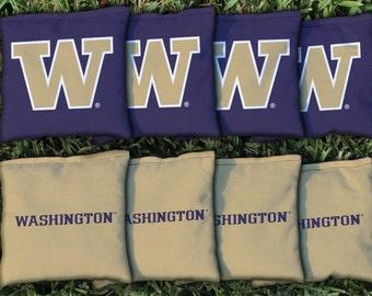Washington UW Huskies Cornhole Bag Set