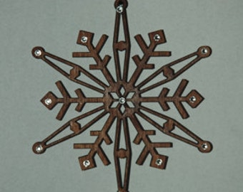 Embellished  snowflake