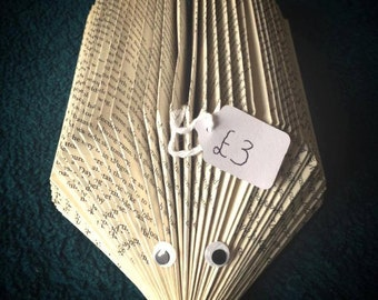 Medium sized hedgehog paper folding